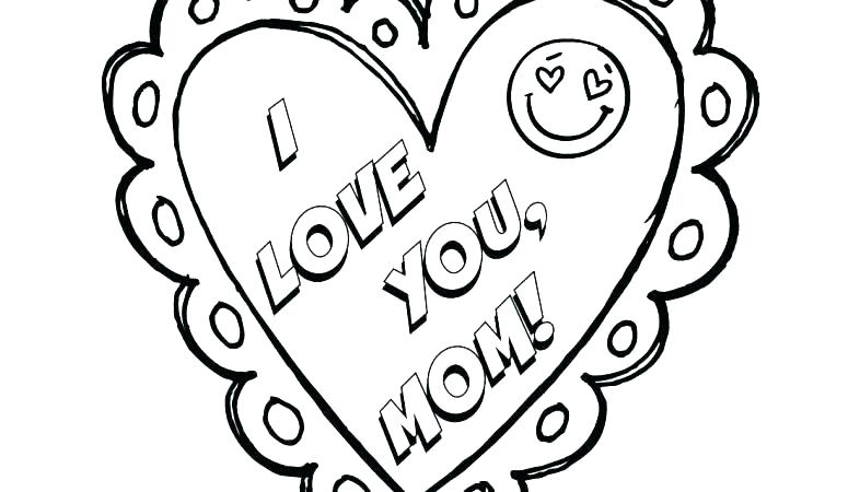 775x450 I Love My Mom Coloring Pages