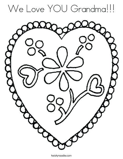 468x605 I Love You Coloring Page Sending My Heart To You I Love You