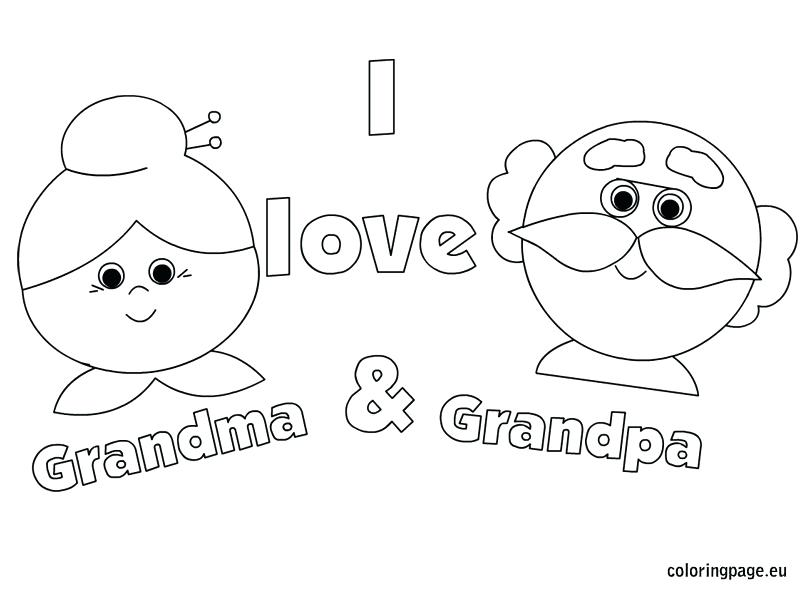 804x595 I Love You Grandma Coloring Pages Sad I Love You Greeting Card