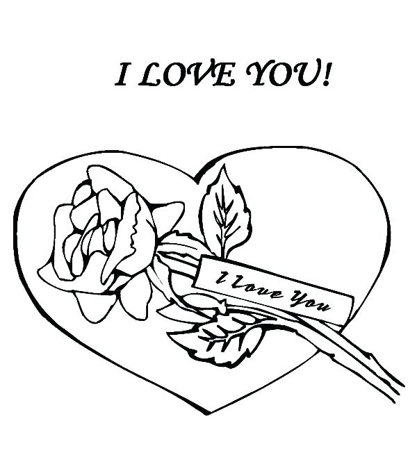 600x678 I Love You Coloring Sheets