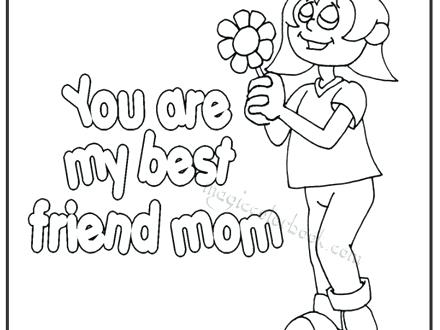 440x330 I Love My Mommy Coloring Pages Mom Printable
