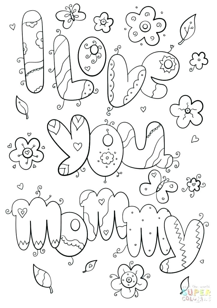 724x1024 Mom Coloring Pages Mom And Dad Coloring Page I Love My Mom And Dad
