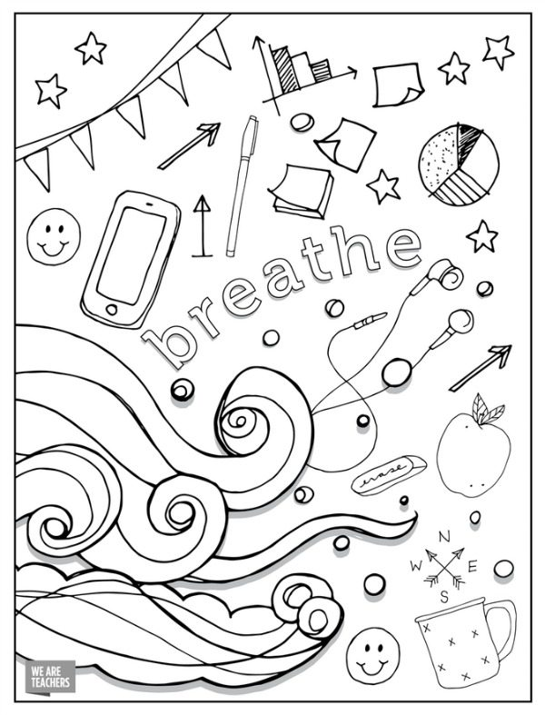 I Love My Teacher Coloring Pages