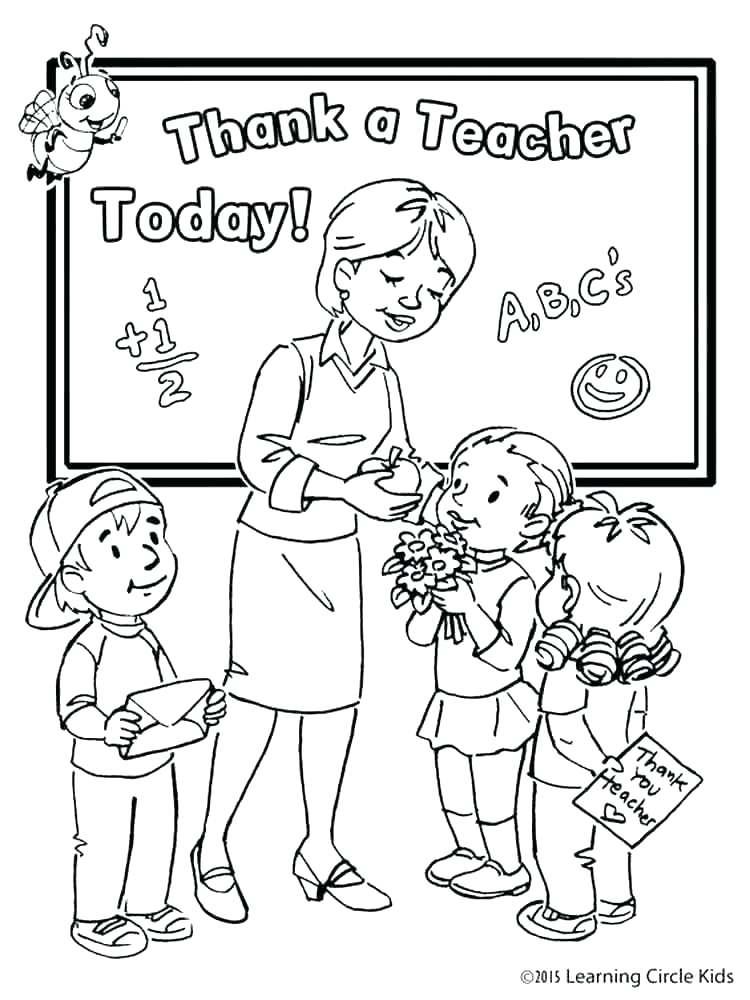 750x1000 Teacher Coloring Pages Best Teacher Coloring Pages Teacher