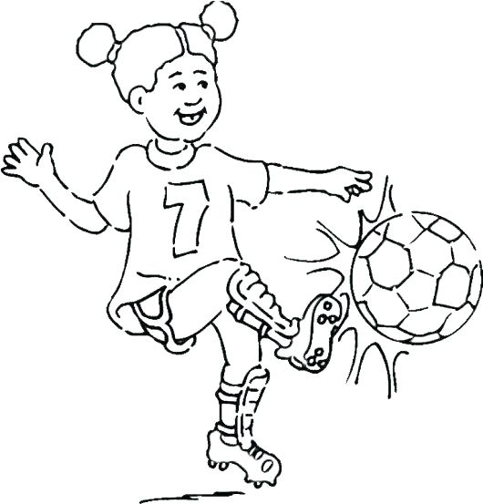 530x553 Soccer Coloring Pages Football Printable Coloring Pages Free