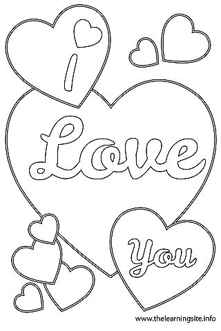 320x480 I Love You Coloring Pages Love You Coloring Pages Free Printable I