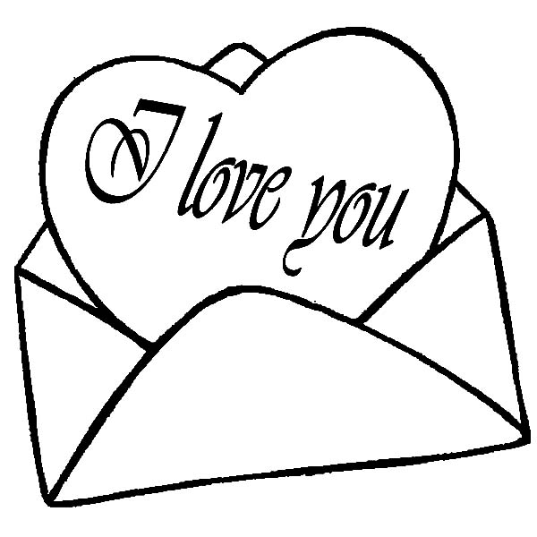 600x600 Sending My Heart To You I Love You Coloring Pages Batch Coloring