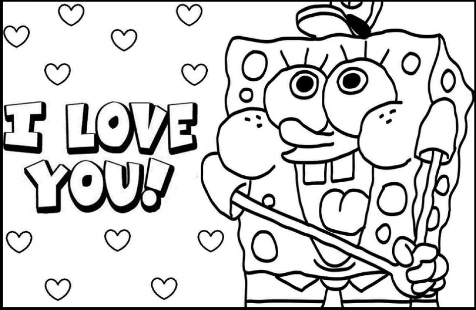960x626 We Love You Coloring Pages Get This Simple I Love You Coloring