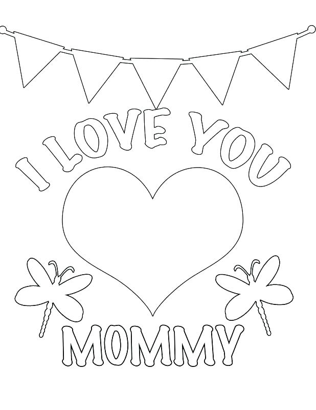 618x800 I Love You Coloring Pages I Love You Coloring Page Love Coloring