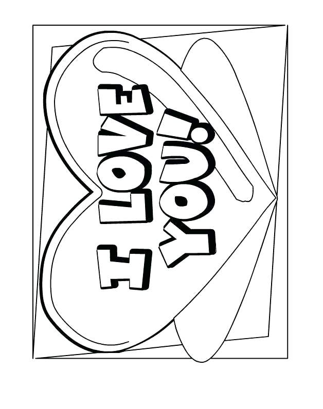 628x796 Inspirational I Love You Coloring Pages For Adults And I Love You