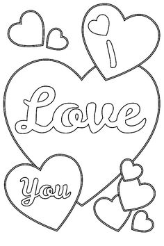 236x354 Stylist Design I Love You Printable Coloring Pages Lovely