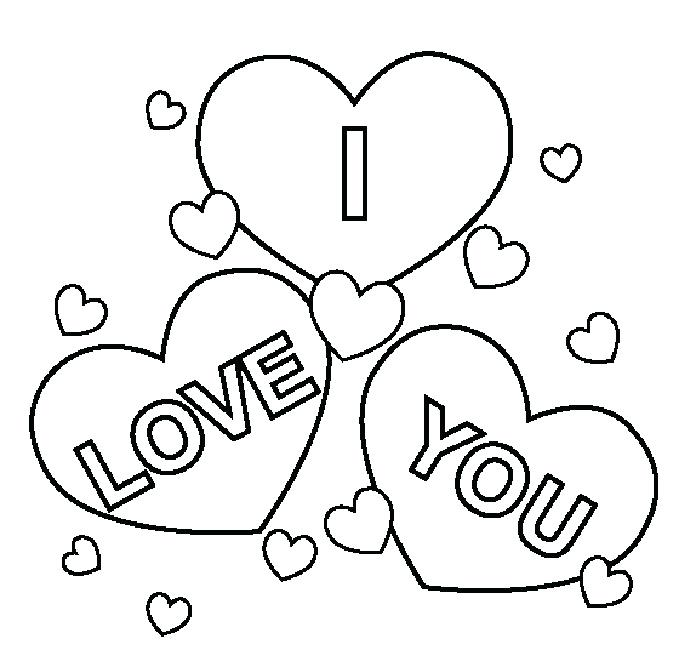 679x650 I Love You Daddy Coloring Page Free Printable Pages Inside Ideas