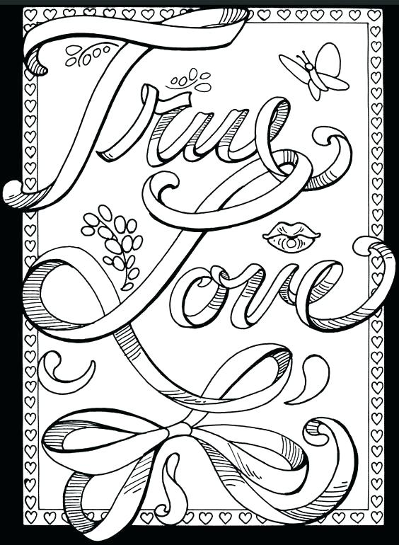 564x770 Free Printable Coloring Pages For Teens
