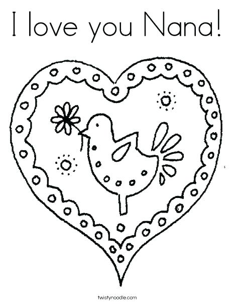 468x605 I Love You Grandma Coloring Pages Coloring Pages I Love You I Love