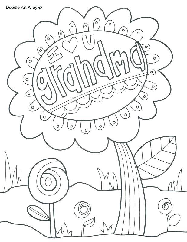 618x800 I Love Grandma Grandpa Coloring Page I Love Grandma