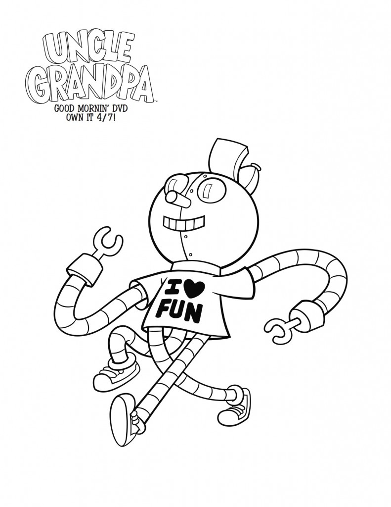 791x1024 Grandpa Coloring Pages Newyork