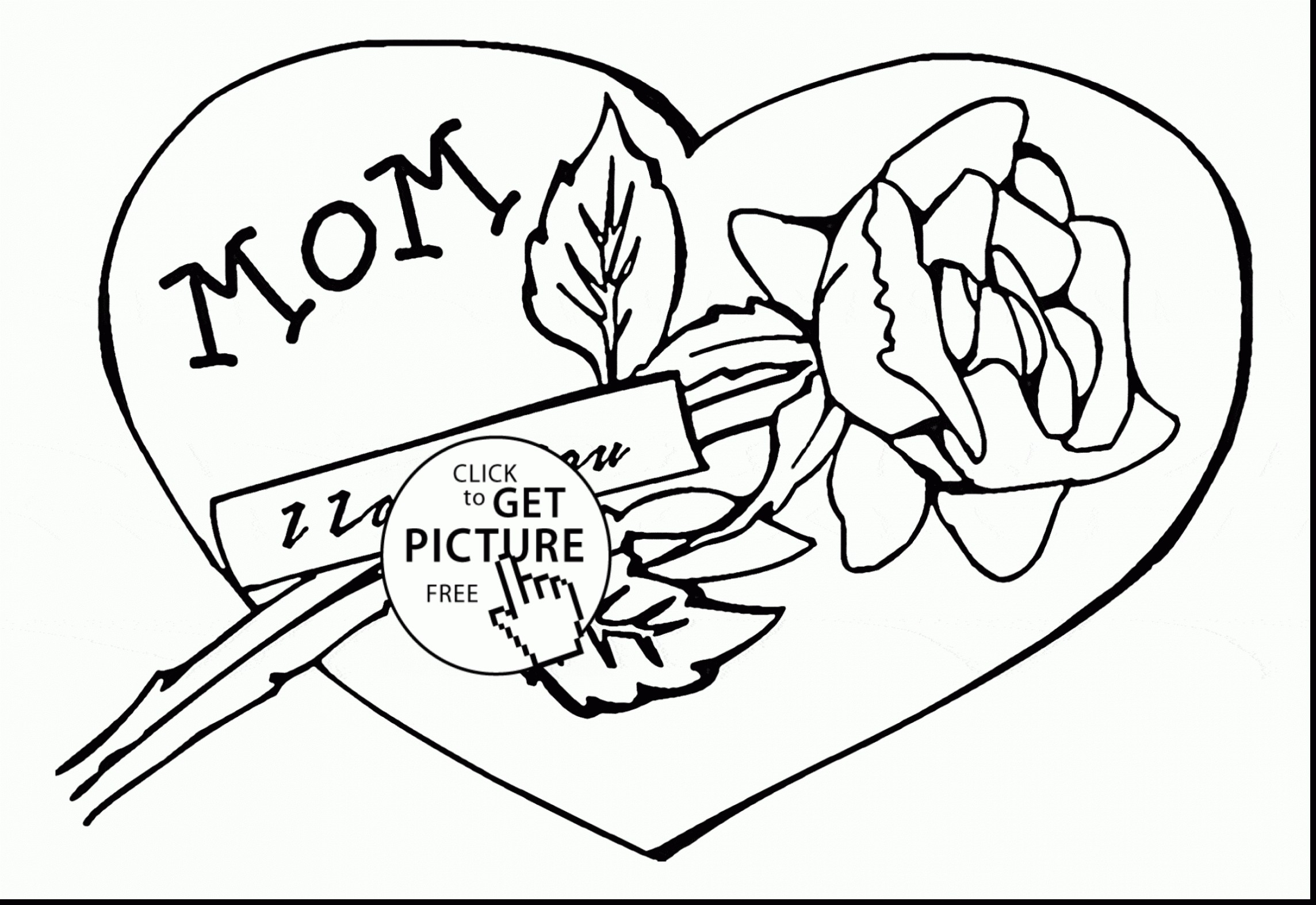 2288x1573 Sure Fire Mommy Coloring Pages I Love You Mom Free Books