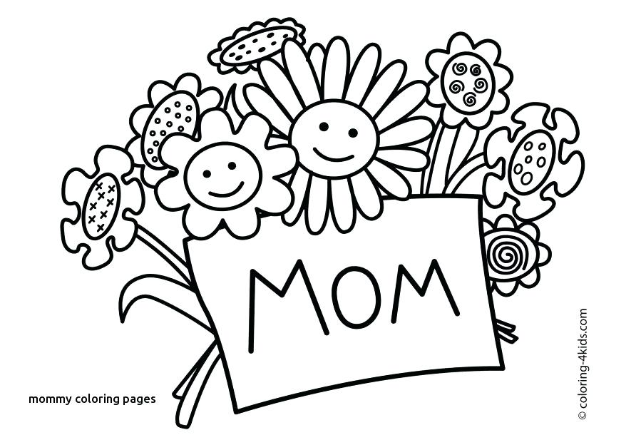 892x610 I Love Mom Coloring Pages Printable Free Printable Mother S Day