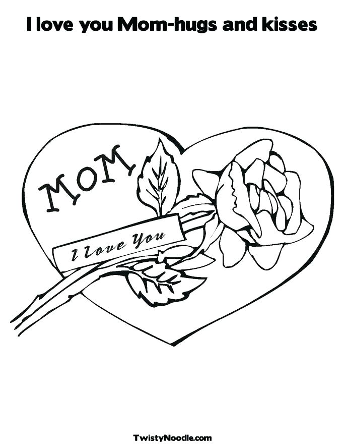 685x886 I Love My Mom Coloring Pages Worlds Greatest Mom Coloring Page I I