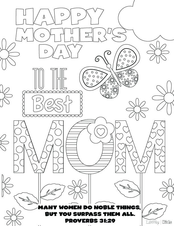 612x792 Happy Mothers Day Coloring Page Happy Mothers Day Coloring Page