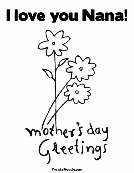 The best free Nana coloring page images. Download from 61 ...