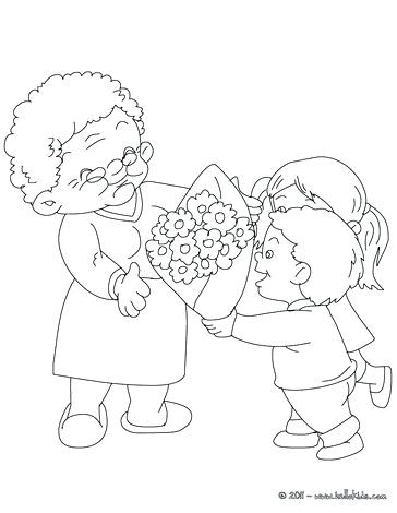 364x470 I Love You Nana Coloring Pages Grandma Elegant Grandparents Day