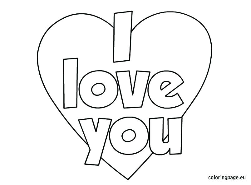 804x595 Printable I Love You Coloring Pages I Love You Coloring Pages I X