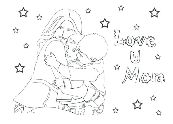 600x428 I Love You Nana Coloring Pages