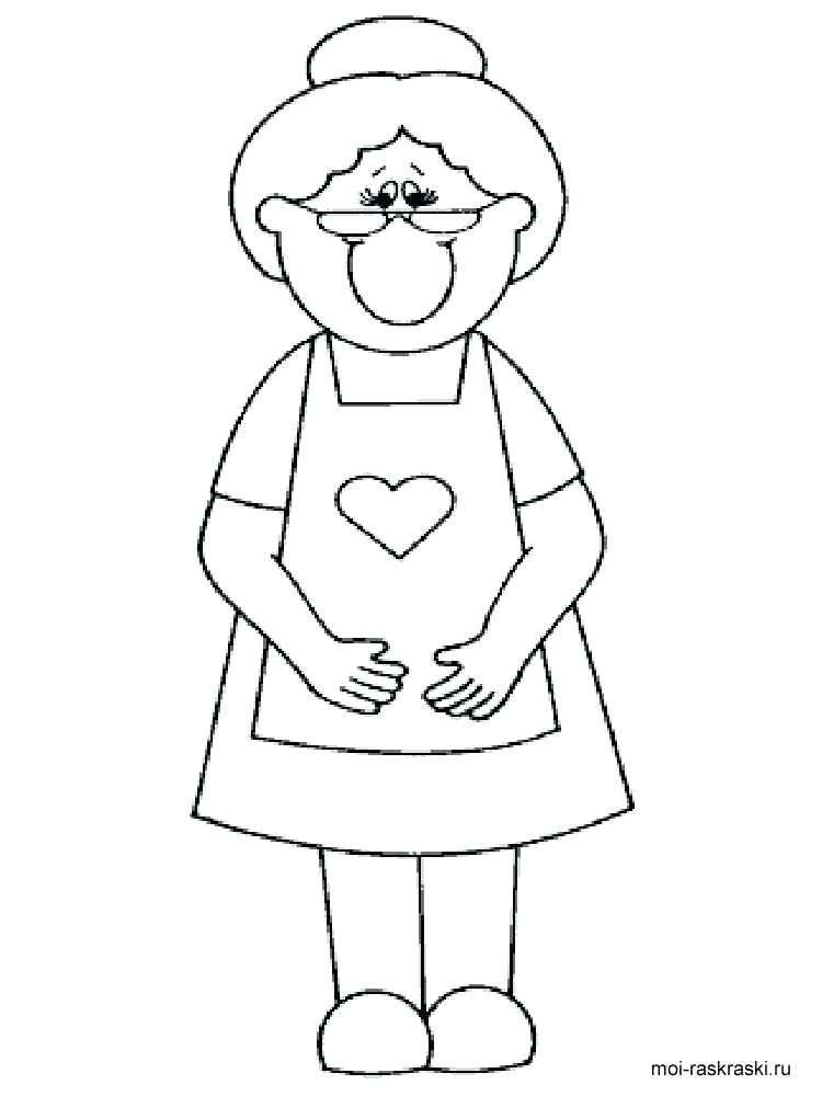 750x1000 Grandma Coloring Pages I Love You Coloring Pages Free Printable