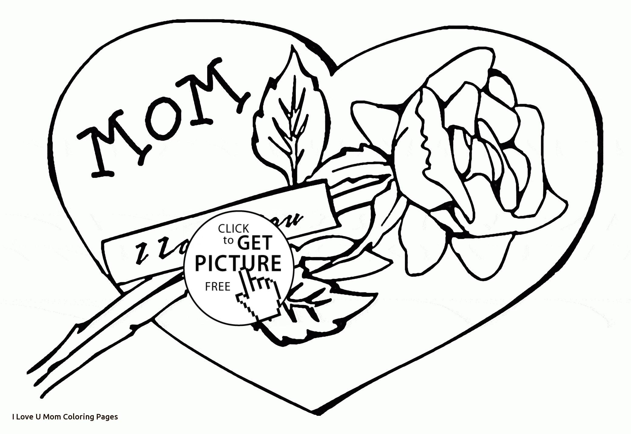 2080x1430 I Love You Mom Coloring Pages To Print