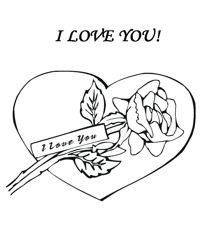 685x774 Cute I Love You Coloring Pages Cute Love Coloring Pictures Kids