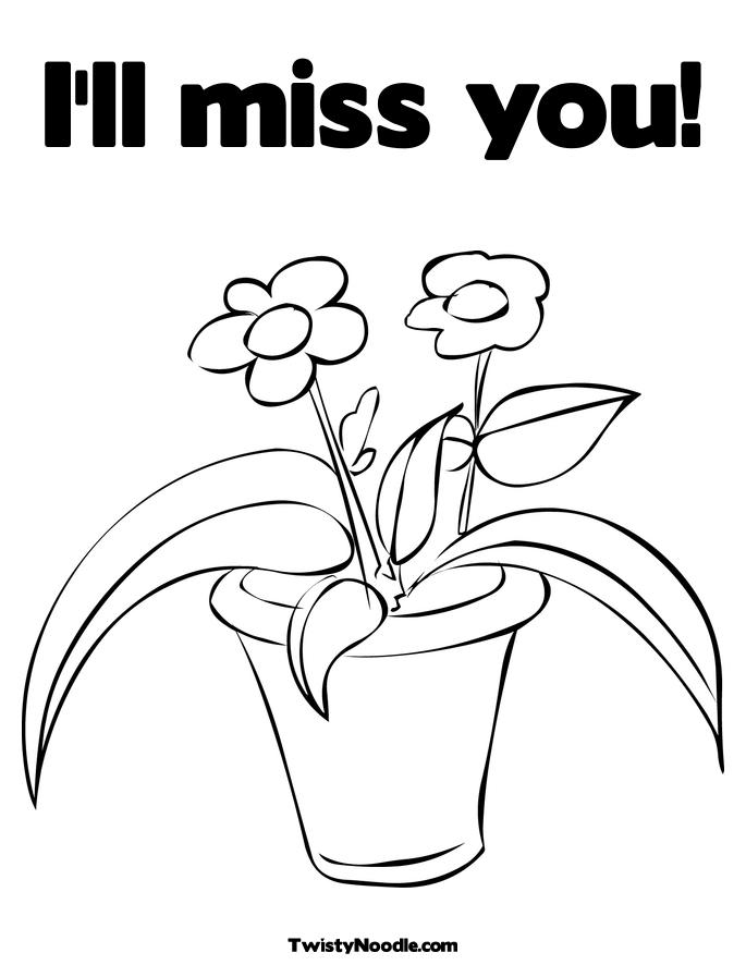 685x886 We Will Miss You Coloring Pages We Will Miss You Coloring Pages
