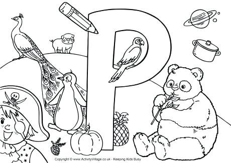 460x325 Coloring Pages For Adults Quotes I Spy Alphabet Colouring Page P