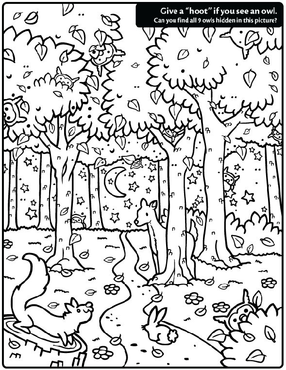 589x762 Best Fall Coloring Pages Images On Coloring Pages
