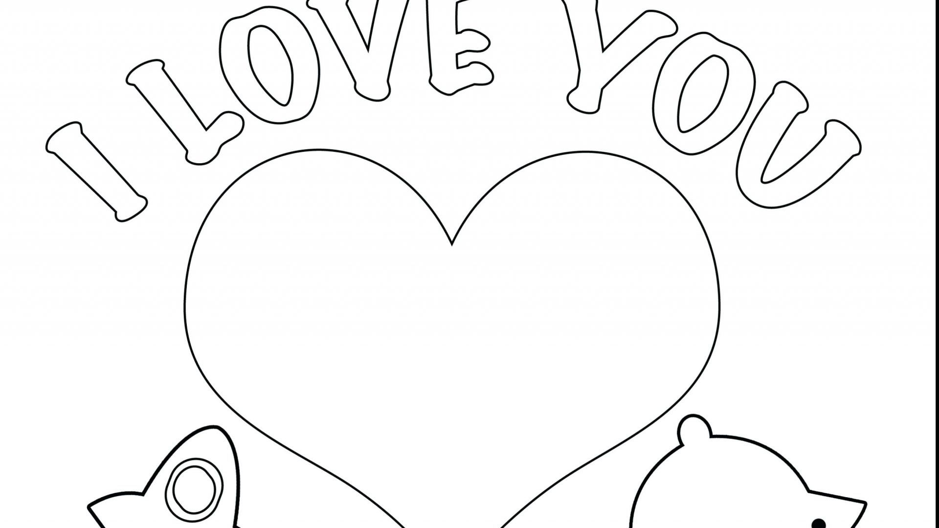 I Will Miss You Coloring Pages