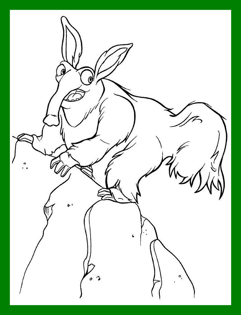 836x1092 Best Ice Age Coloring Pages Coloringsuite Pics For Style