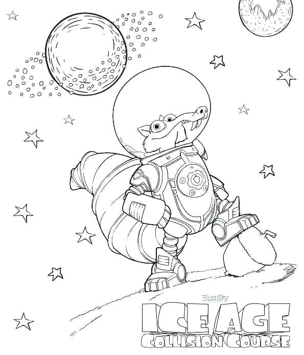 595x695 Coloring Pages For January Ice Age Coloring Pages Coloring Page