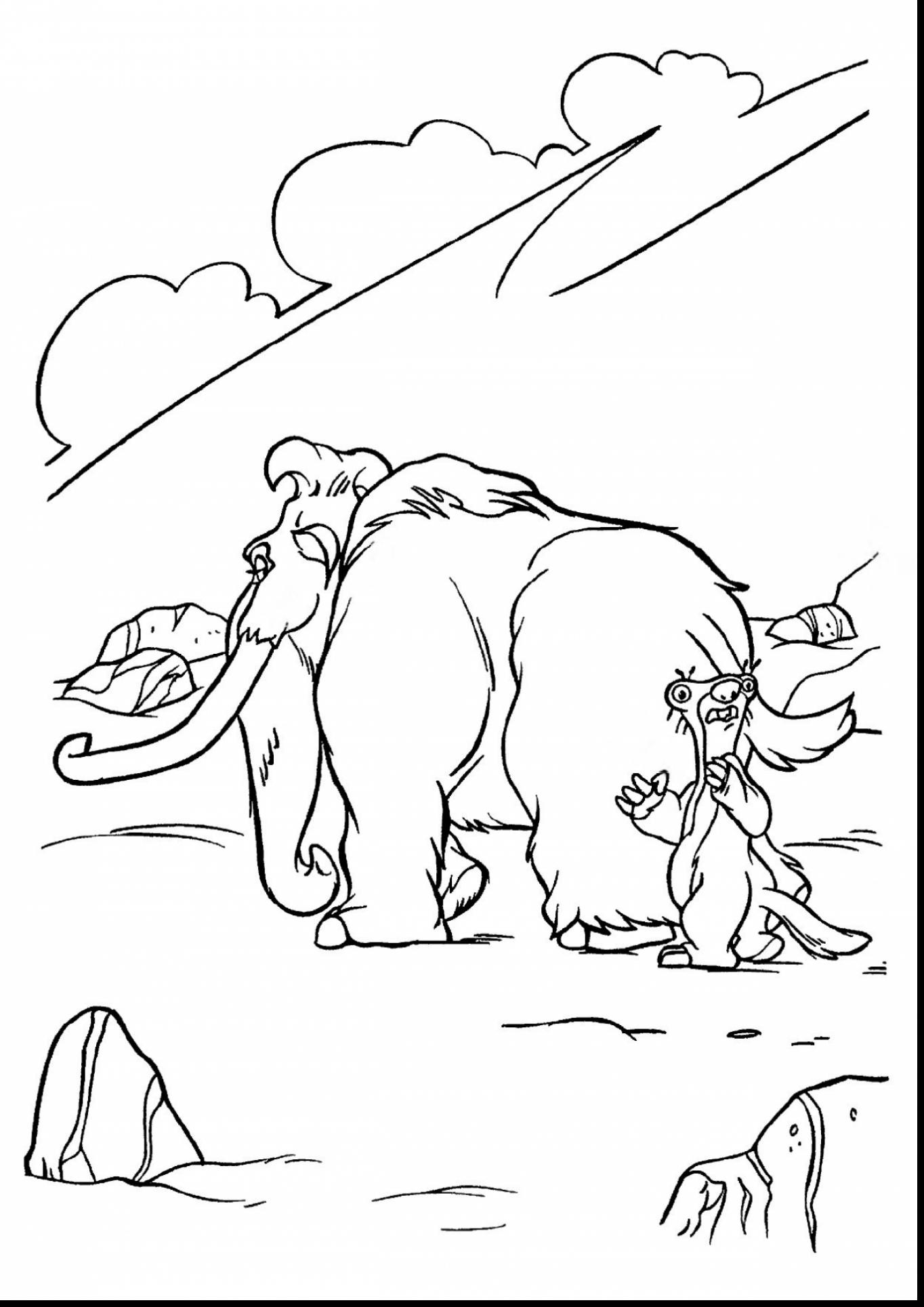 1364x1929 Ice Age Coloring Pages With Wallpaper Iphone Mayapurjacouture Ice