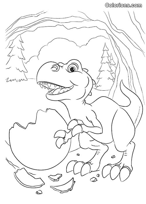 Ice Coloring Page