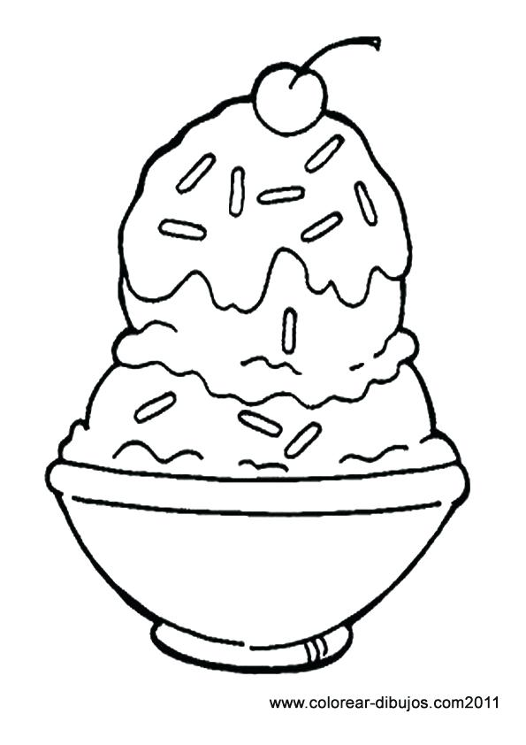595x842 Ice Cream Coloring Pictures And Free Printable Ice Cream Coloring