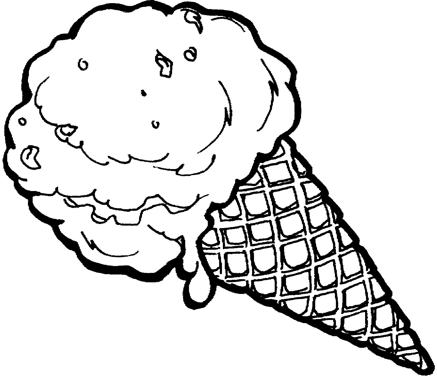 1392x1205 Ice Cream Coloring Sheets
