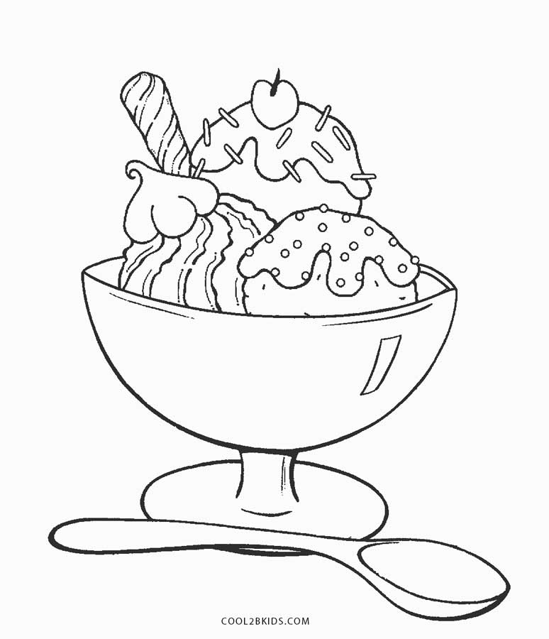774x900 Free Printable Ice Cream Coloring Pages For Kids