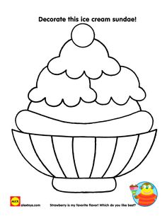 236x305 Ice Cream Coloring Pages Free Printable, Summer And Craft