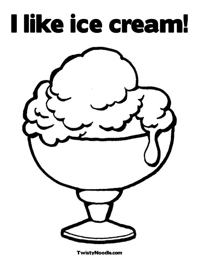 685x886 Ice Cream Coloring Pages For Kids