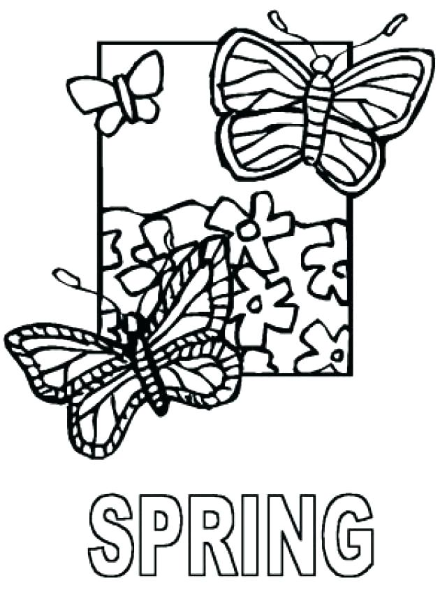 640x853 Printable Spring Coloring Pages Free Printable Coloring Pages