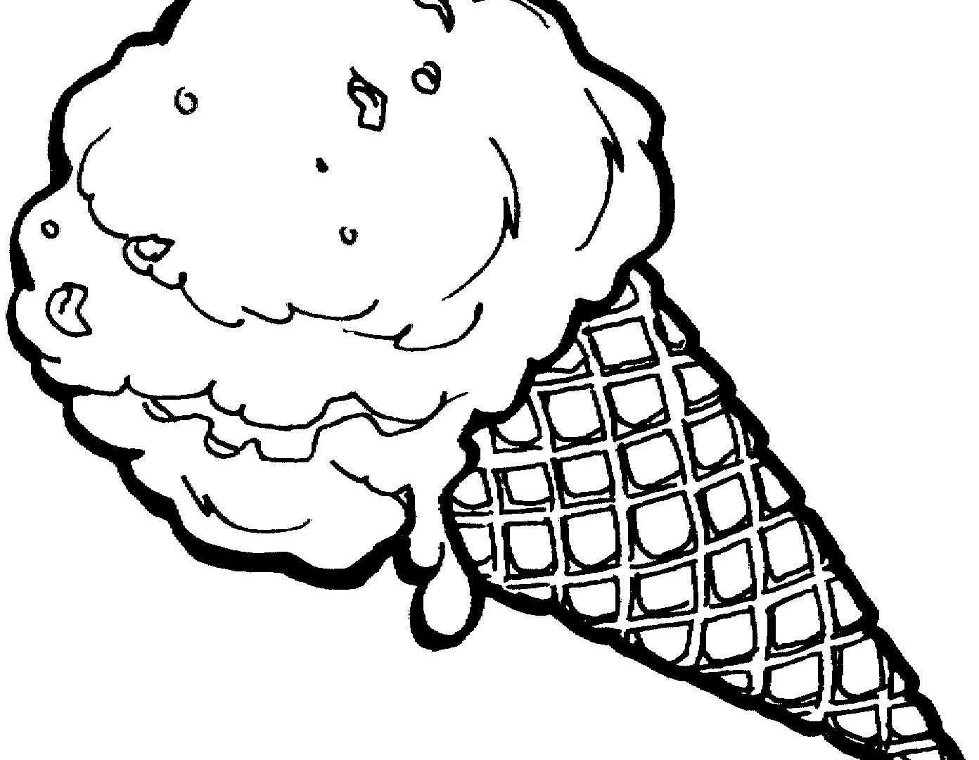 1392x1080 Astounding Ice Cream Coloring Pages Printable To Amusing Printable