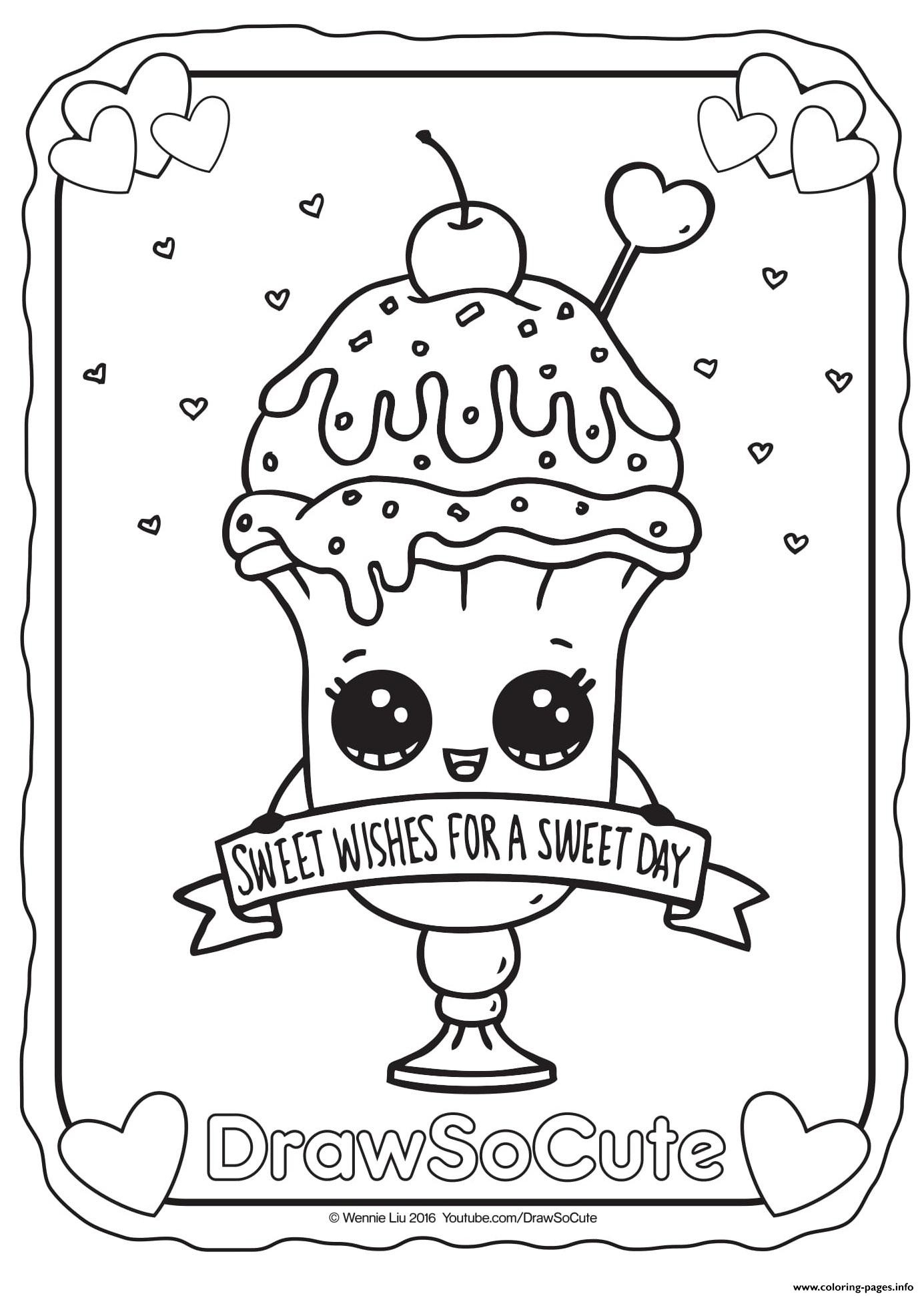 1385x1941 Cool Ice Cream Coloring Pages And Print For Free Free Coloring