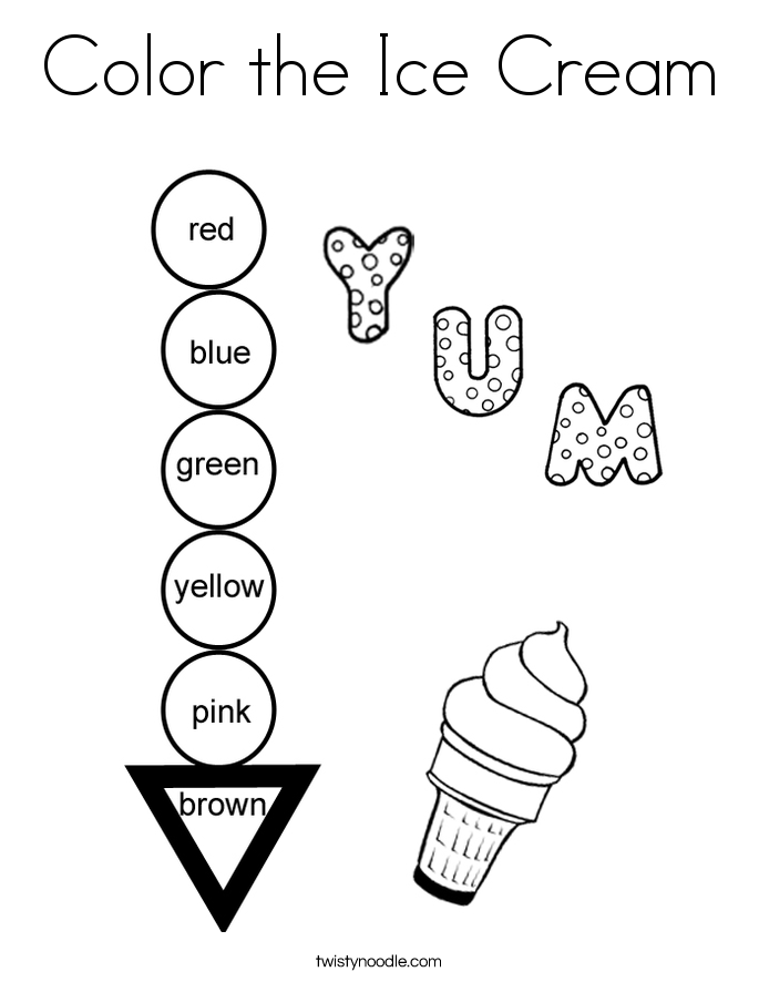685x886 Ice Cream Coloring Pages