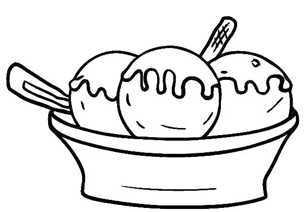 600x419 Ice Cream Coloring Pictures Ice Cream Coloring Pages Together