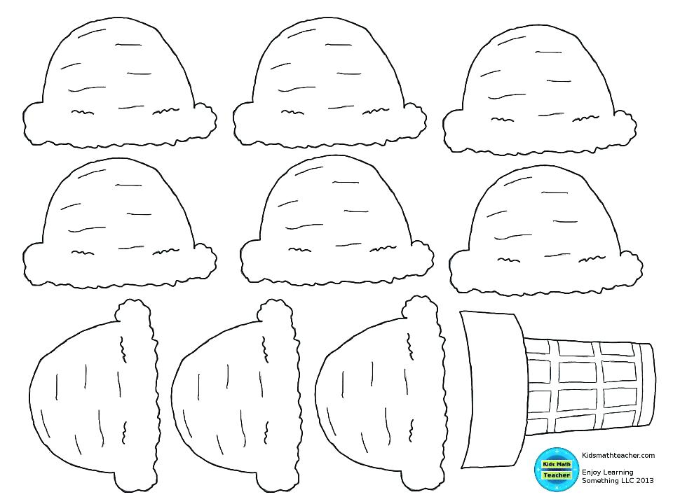 960x720 Ice Cream Scoop Coloring Page Ice Cream Color Page Yuga Free